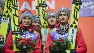 11.03.2017 FIS PUCHAR SWIATA W SKOKACH NARCIARSKICH OSLO HOLMENKOLLEN SKIFESTIVAL 2017 KONKURS DRUZYNOWY