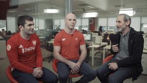Gadżijew i Bernatek o sukcesach w 2017 roku