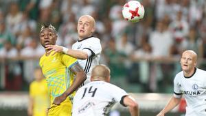 02.08.2017 LEGIA WARSZAWA - FK ASTANA 3 RUNDA KWALIFIKACYJNA LIGI MISTRZOW UEFA PILKA NOZNA