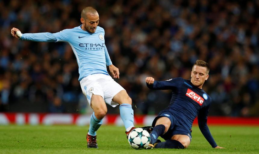 Champions League - Manchester City vs S.S.C. Napoli