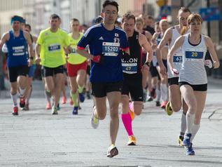 Na półmaraton wprost z poligonu