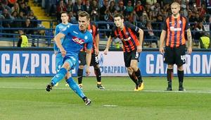Champions League - Shakhtar Donetsk vs SSC Napoli