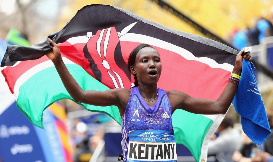 Mary Keitany Maraton w Nowym Jorku