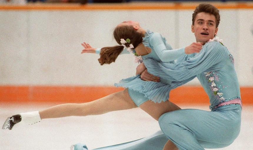 OLY-WINTER-1988-FIGURE SKATING-GORDEYEVA-GRINKOV