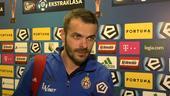 Pawel Brożek o meczu Legia - Wisła
