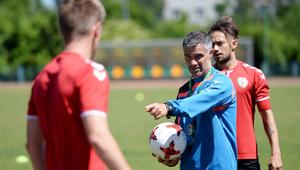 Gino Lettieri trener Korony Kielce