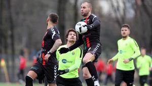 Pilka nozna. Sparing. GKS Tychy - SFC Opava. 02.02.2018