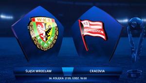 Śląsk Wrocław pokonał Cracovię