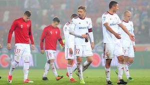 Pilka nozna. Ekstraklasa. Gornik Zabrze - Korona Kielce. 20.10.2017