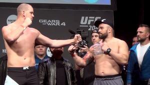 UFC: Omielańczuk – Struve. Ważenie przed walką w Manchesterze