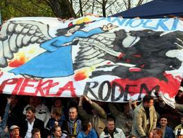 Legendarne derby na Broniewskiego. Trybuny były bardziej kolorowe