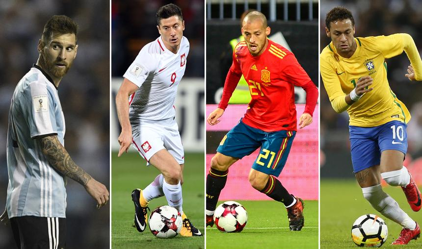 Gwiazdy mundialu 2018. Oni mogą poprowadzić swoje drużyny do sukcesu