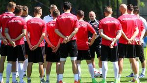 Cracovia Krakow - trening
