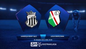 Legia uratowała remis z Sandecją w doliczonym czasie gry