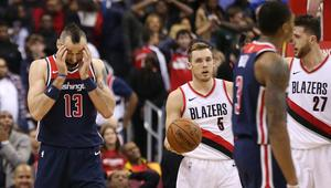 NBA: Portland Trail Blazers at Washington Wizards