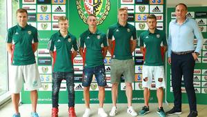 Prezentacja nowych zawodnikow Slaska Wroclaw