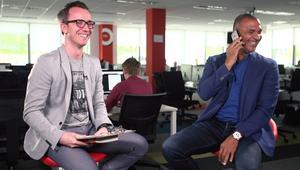 """Boniek przerywa wywiad z Ruudem Gullitem. """"Masz tu mocną pozycję"""""""