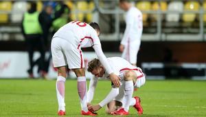 Pilka nozna. Eliminacje MME U21. Polska - Dania. 14.11.2017