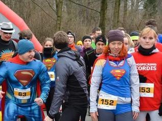 Test biegowej mocy Superbohaterów