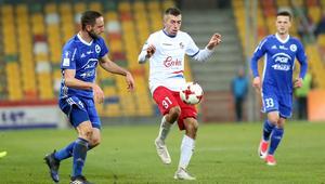 Pilka nozna. Nice I liga. Podbeskidzie Bielsko-Biala - Stal Mielec. 21.11.2017