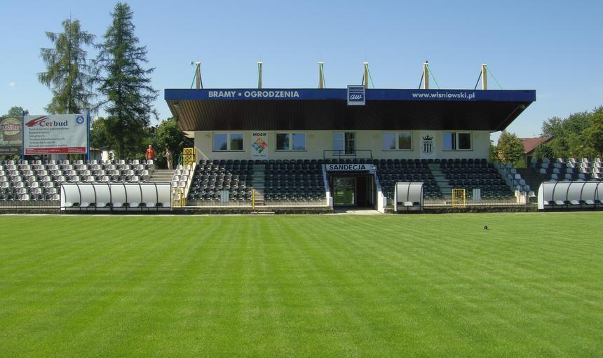 Stadion, Sandecja Nowy Sącz
