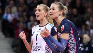 Siatkowka kobiet. Liga Mistrzow. KPS Chemik Police - Imoco Volley Conegliano. 25.01.2017