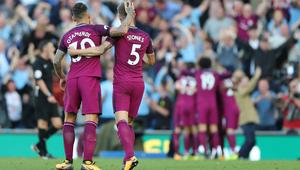 FOOTBALL - ENGLISH CHAMP - BRIGHTON v MANCHESTER CITY