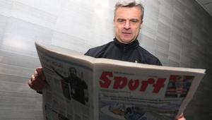 Pilka nozna. Ekstraklasa. Ruch Chorzow. Krzysztof Warzycha. 22.11.2017