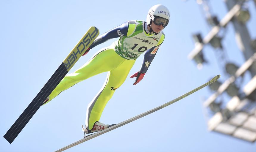 Skoki narciarskie - trening kadr polskich skoczkow narciarskich