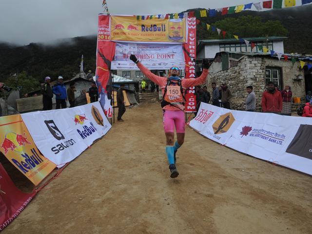 Tenzing Hillary Everest Marathon 2016 Robert Celiński