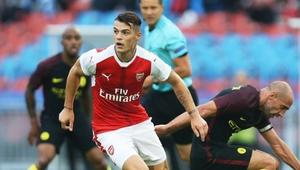 FOOTBALL - FRIENDLY GAME - ARSENAL v MANCHESTER CITY