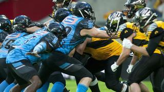 Futbol amerykański Panthers Wroclaw - Seahawks Gdynia