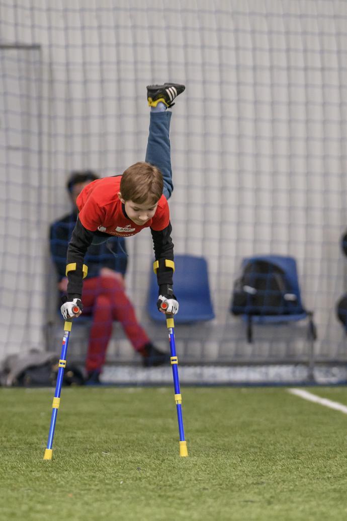 Maks chce w przyszłości zagrać w ampfutbolowej reprezentacji Polski