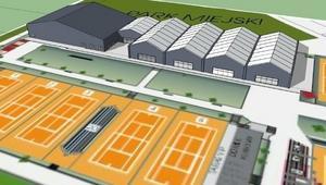 Nowa hala tenisowa w Bytomiu