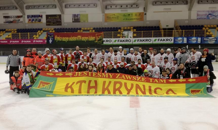 Gwiazdy grały w hokeja