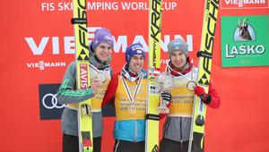 Andreas Wellinger, Stefan Kraft, Kamil Stoch