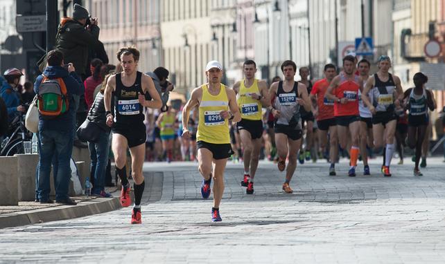 Półmaraton Warszawski, biegi