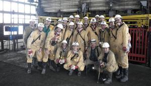 Wizyta w kopalni ich nakręci