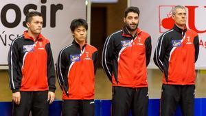 Daniel Gorak, Masaki Yoshida, Panagiotis Gionis, Tomasz Redzimski