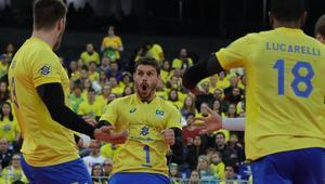 Zwycięstwo Brazylii z Rosją w Lidze Światowej