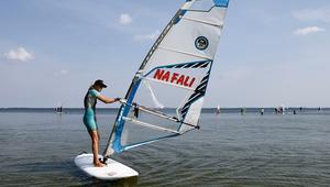 Aktywne lato z Atomowkami. Windsurfing. 22.08.2014