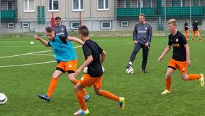 Piłka nożna, dzieci, akademia