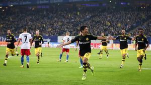 Hamburger SV vs Borussia Dortmund