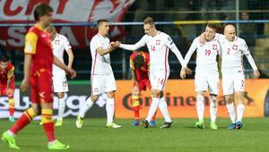 26.03.2017 CZARNOGORA - POLSKA KWALIFIKACJE MISTRZOSTW SWIATA FIFA 2018 PILKA NOZNA