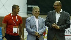 Od lewej: Ryszard Wolny, Andrzej Supron i Andrzej Wroński - ta trójka będzie miał wpływ na kształt polskich zapasów w przyszłości.