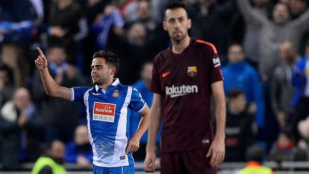 Barcelona Espanyol liga hiszpańska