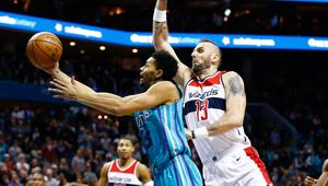 NBA: Washington Wizards at Charlotte Hornets