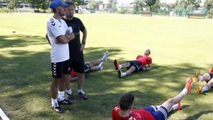 Pilka nozna. Nice I liga. GKS Tychy. Trening. 21.06.2017