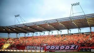 Uroczyste otwarcie stadionu RTS Widzew Lodz