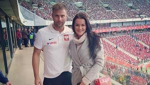 Agnieszka Radwańska i Artur Boruc